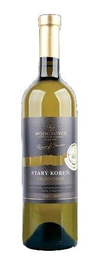 PD Mojmírovce Starý koreň Chardonnay 0,75L, r2017, vin