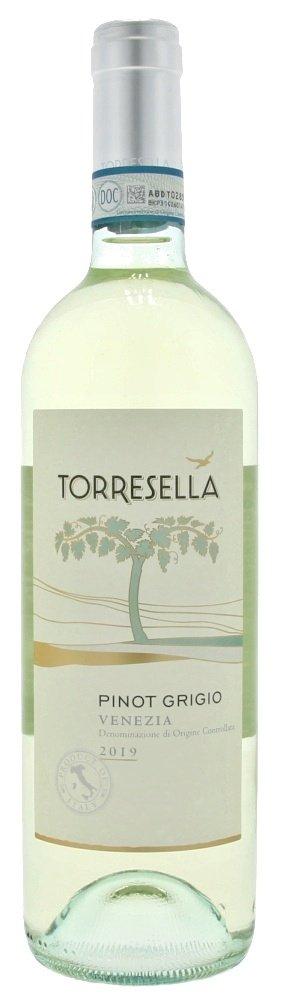 Torresella Pinot Grigio Venezia 0,75L, DOC, r2019, bl, su