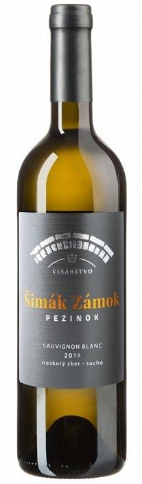 Šimák Zámok Pezinok Edícia Roman Janoušek Sauvignon Blanc 0,75L, r2019, vzh, bl, su