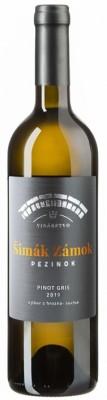 Šimák Zámok Pezinok Edícia Roman Janoušek Pinot Gris 0,75L, r2019, vzh, bl, su