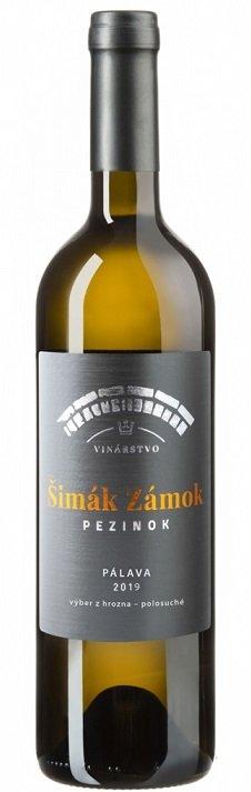 Šimák Zámok Pezinok Edícia Roman Janoušek Pálava 0,75L, r2019, vzh, bl, plsu