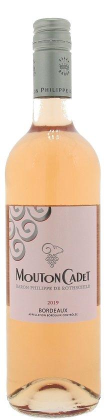 Rothschild Le Rosé de Mouton Cadet 0,75L, AOC, r2019, ruz, su, sc