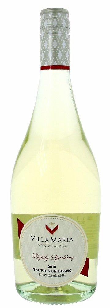 Villa Maria Private Bin Lightly Sparkling Sauvignon Blanc 0,75L, r2019, per, bl, su