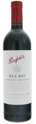 Penfolds BIN 407 Cabernet Sauvignon 0,75L, r2017, cr, su