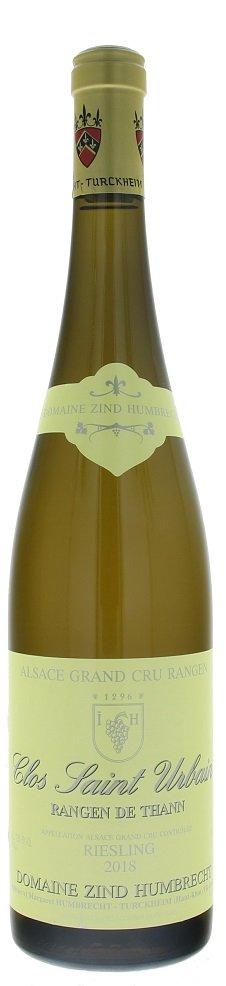 Zind Humbrecht Riesling Clos Saint Urbain Rangen de Thann Grand Cru BIO 0,75L, AOC, r2018, bl, su