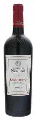 Cantina Di Negrar Bardolino Classico 0,75L, DOC, r2019, cr, su