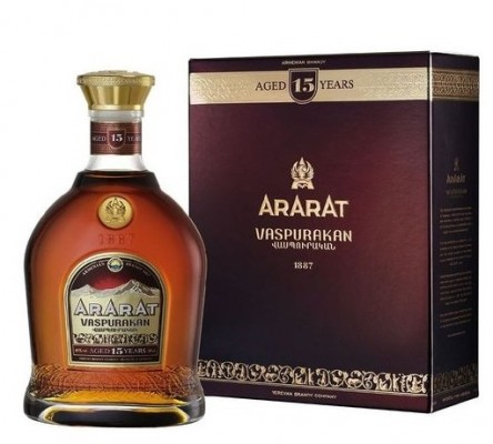 Ararat 15YO 40% 0,7L, brandy, DB
