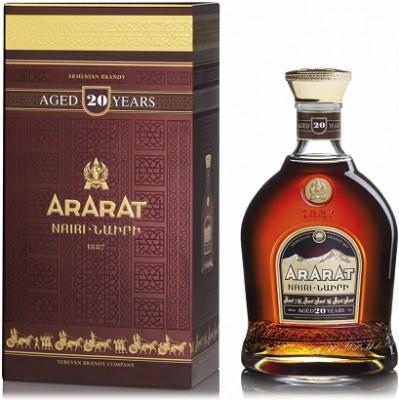 Ararat 20YO 40% 0,7L, brandy, DB