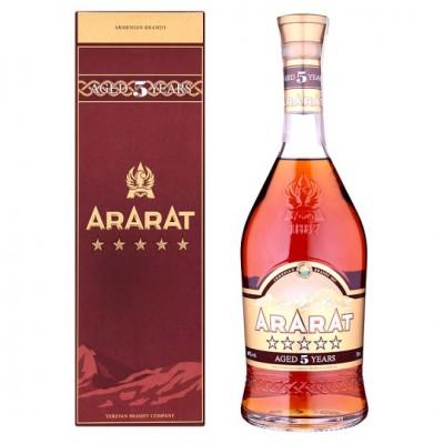 Ararat 5YO 40% 0,7L, brandy, DB