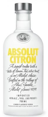 Absolut vodka Citron 40% 0,7L, vodka