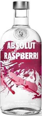Absolut vodka Raspberri 40% 1L, vodka