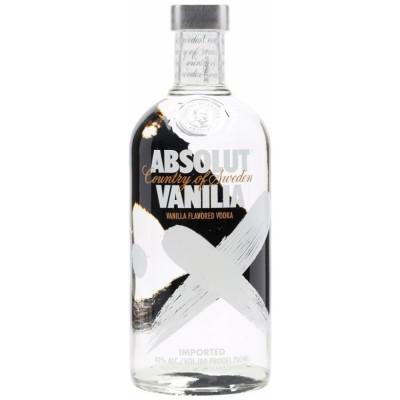Absolut vodka Vanilia 40% 0,7L, vodka