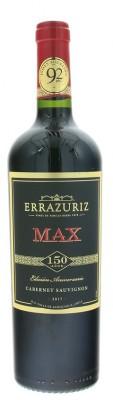Errazuriz Max Reserva Cabernet Sauvignon 0,75L, r2017, cr, su