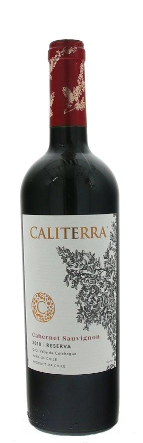Caliterra Reserva Cabernet Sauvignon 0,75L, r2018, cr, su
