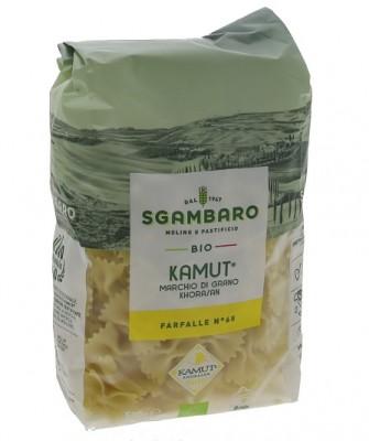 Sgambaro BIO cestoviny 500 g  Kamut® Khorasan Farfalle N65