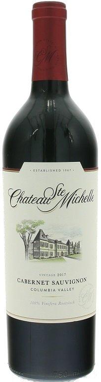 Chateau Ste.Michelle Columbia Valley Cabernet Sauvignon 0,75L, r2017, cr, su