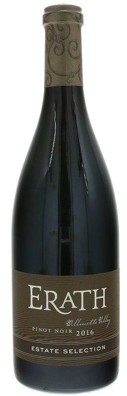 Erath Pinot Noir Estate Selection, Willamette Valley 0,75L, r2016, cr, su