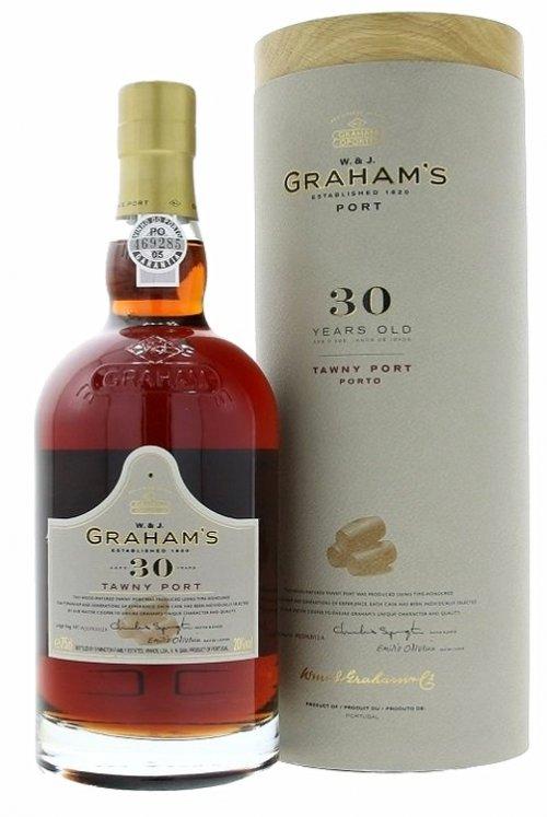 Graham's 30 Y.O. Tawny Port 0,75L, fortvin, cr, sl, DB