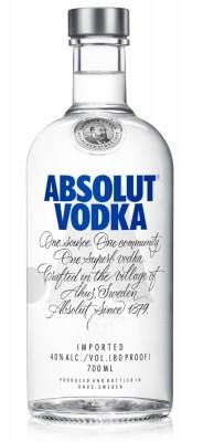 Absolut vodka 40% 0,7L, vodka