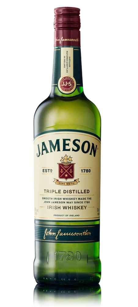 Jameson Irish whiskey 40% 0,7L, whisky
