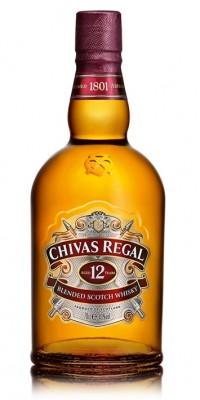 Chivas regal whisky 12r. 40% 0,7L, whisky