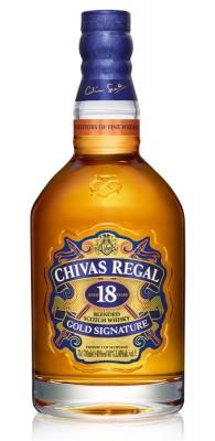 Chivas regal whisky 18 r. 40% 0,7L, whisky