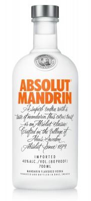 Absolut vodka Mandrin 40% 0,7L, vodka