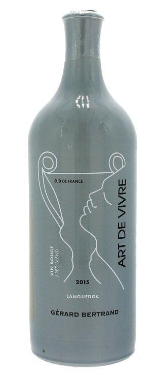 Gérard Bertrand Art de Vivre Languedoc  Vin Rouge 0,75L, AOP, r2015, cr, su