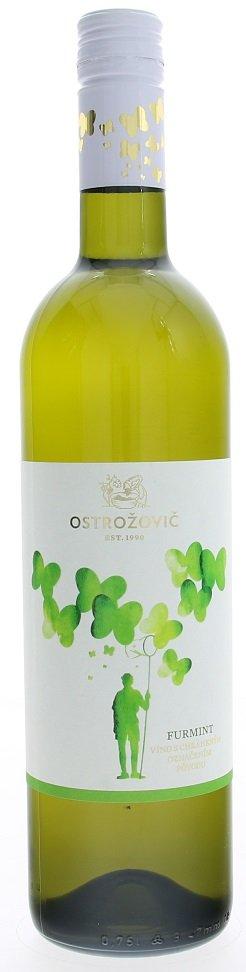J&J Ostrožovič Furmint 0,75L, r2019, vin, bl, su, sc