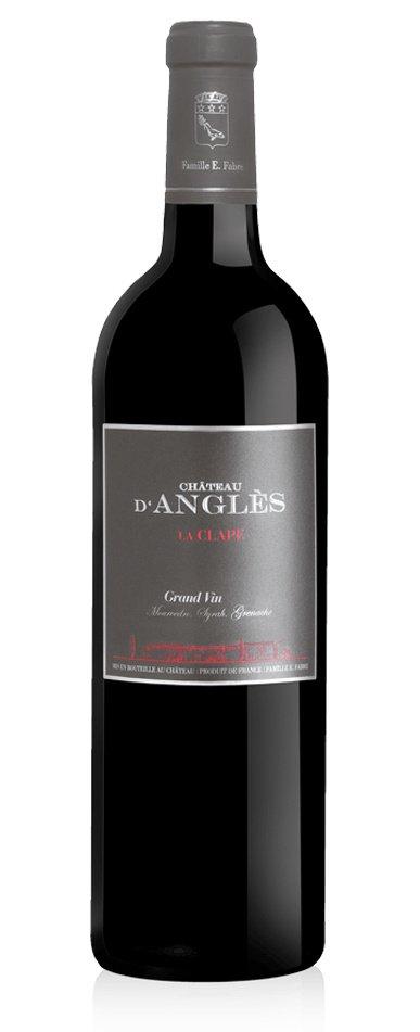 Château d'Angles Grand Vin Rouge La Clape 0,75L, AOC, r2017, cr, su