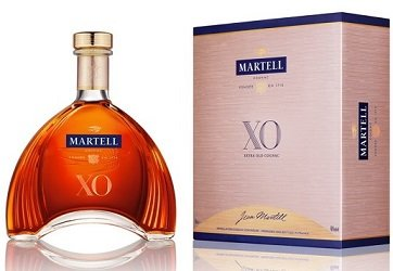 Martell XO 40% 0,7L, cognac, DB