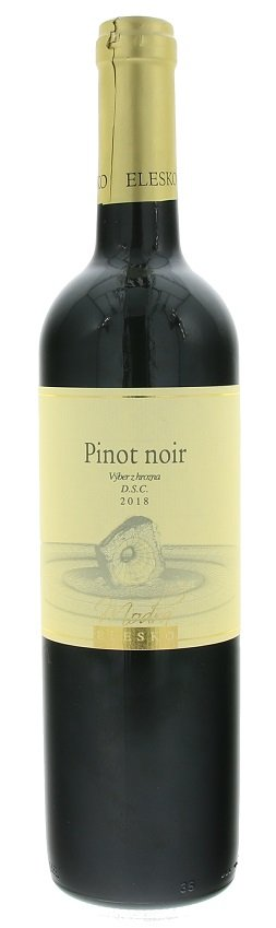 Elesko Pinot Noir 0,75L, r2018, ak, cr, su
