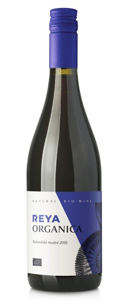 Reya Organica Rulandské modré BIO 0,75L, r2018, vzh, cr, su, sc
