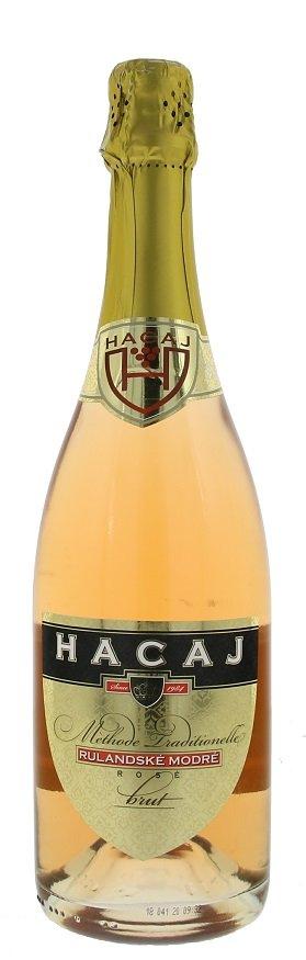 Hacaj Rulandské modré Rosé Brut 0,75L, r2015, pestskt, ruz, brut