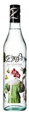 Znaps Norfolk Brink Vodka, ochutená s príchuťou rebarbory, hrušky a egrešu 37,5% 0,7L
