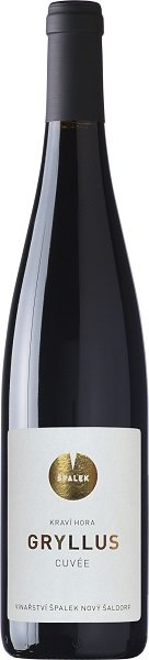 Špalek Gryllus cuvée, BIO 0,75L, r2016, ak, cr, su