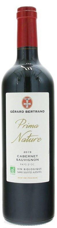 Gérard Bertrand Prima Nature Cabernet Sauvignon, BIO 0,75L, IGP, r2019, cr, su
