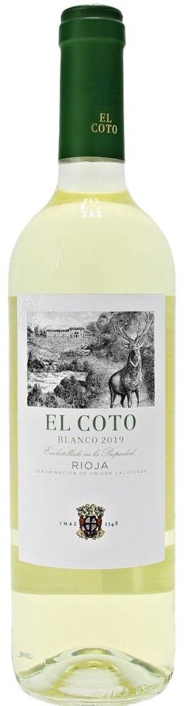 El Coto Blanco 0,75L, DOCa, r2019, bl, su