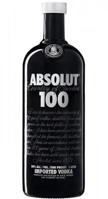 Absolut vodka 100 50% 1L, vodka