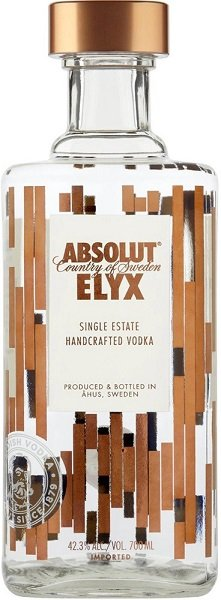 Absolut vodka ELYX 42,3% 0,7L, vodka