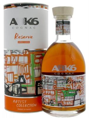 ABK6 Cognac Reserve Artist Collection 40% 0,7L, cognac, DB