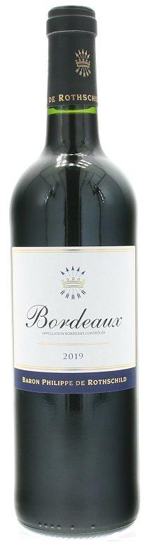 Rothschild Bordeaux Rouge 0,75L, AOC, r2019, cr, su