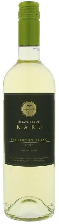 Karu Sauvignon Blanc 0,75L, r2018, bl, su, sc