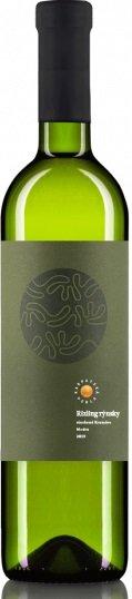 Karpatská Perla Rizling rýnsky Kramáre 0,75L, r2019, vin, bl, su