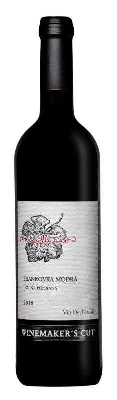 Mrva & Stanko Winemaker's Cut Frankovka modrá 0,75L, r2018, vzh, cr, su