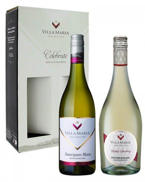 Balíček Villa Maria, 2 vína + darčekový box zadarmo