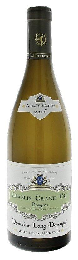 Albert Bichot Domaine Long-Depaquit Chablis Bougros Grand Cru 0,75L, AOC, Grand Cru, r2015, bl, su
