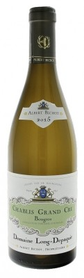 Albert Bichot Domaine Long-Depaquit Chablis Bougros Grand Cru 0,75L, AOC, Grand Cru, r2015, bl, su