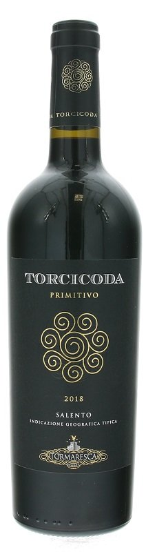 Tormaresca Torcicoda Primitivo Salento 0,75L, IGT, r2018, cr, su