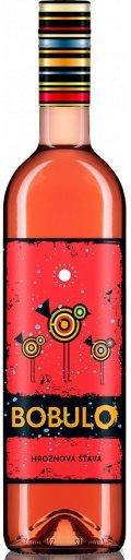 Karpatská Perla BOBULO hroznový mušt ružový 0,75L, r2020, hm, ruz, sl, sc